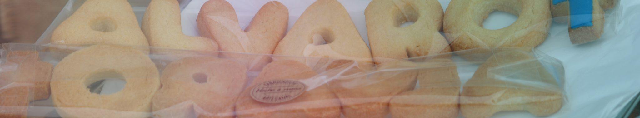 Galletas de mantequilla personalizadas
