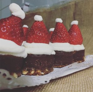 brownie nochebuena