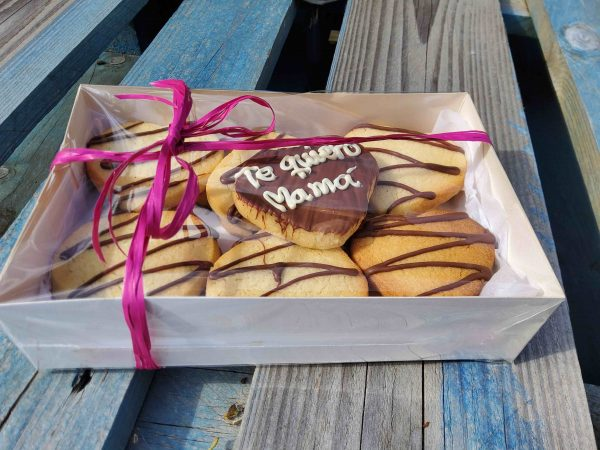 galletas de mantequilla día de la madre te quiero mamá